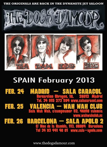 Spain Dates 2013